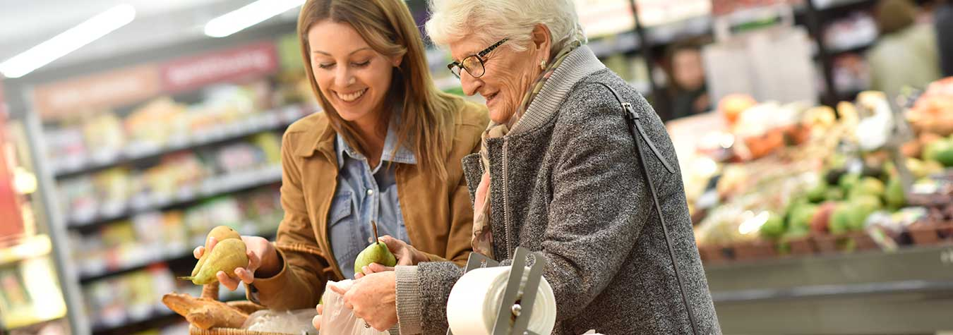 Groceries and Shopping - Helping Hands Care